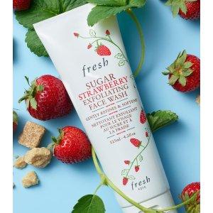 Fresh草莓磨砂膏