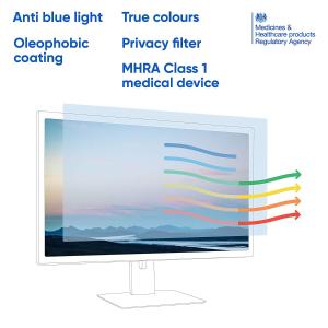 多种尺寸可选Amazon 精选电脑蓝光过滤屏保膜 宅家云办公学习的护眼必备品