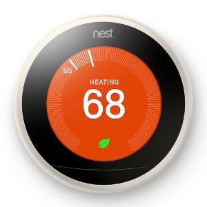 $179.99 送$45 Kohl's Cash黑五开抢:Google Nest Learning Thermostat 3代 智能温控器