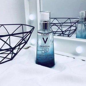 8.5折+满额送$10礼卡Vichy 美妆护肤品促销 收89能量瓶精华