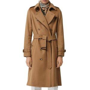 低至3.5折 好价入冬季外套上新:Burberry 男女服饰等热卖