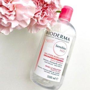 售价£22.4 性价比高 、 温和不刺激Bioderma 贝德玛 舒颜洁肤液卸妆水 500ml (2只装)