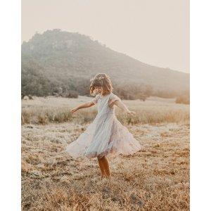 NORALEE 女童纱质连衣裙裙