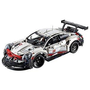 Porsche 保时捷 911 RSR超跑 - 42096 | Technic™机械系列