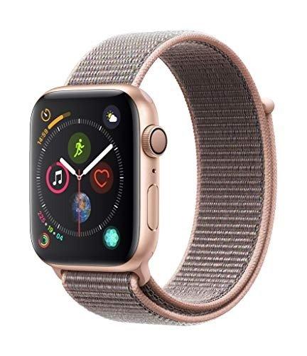 Watch Series4 (GPS, 44mm) 粉砂色回环式运动表带