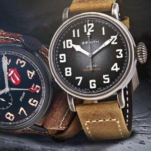 Up to 48% Off + Extra $500 OffZENITH Pilot Automatic Men's Watch