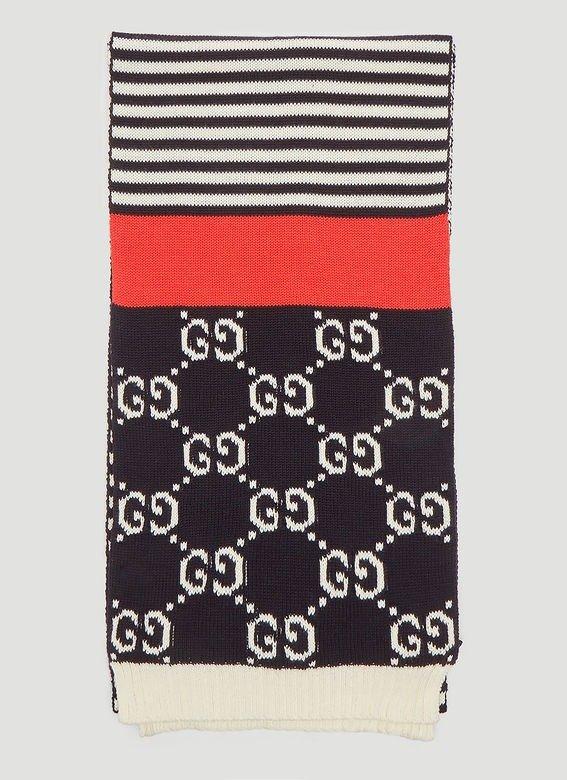 GG Jacquard 围巾