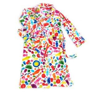 Fuzzy Candy Spill Robe (Women)