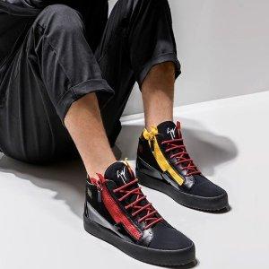 上百款 低至2折起Giuseppe Zanotti 经典滑板鞋,女明星最爱高跟鞋清仓特卖