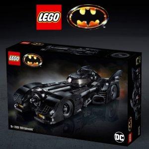 $249.99黑五开抢:LEGO官网 1989蝙蝠侠战车 76139,黑五上市
