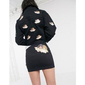 Fiorucci牛仔mini短裙