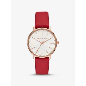 皮带石英手表