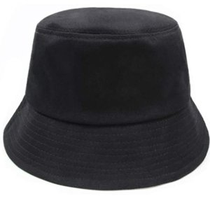 中性纯色渔夫帽