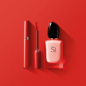 Giorgio Armani 彩妆热促 圣诞限量红管唇釉也参加