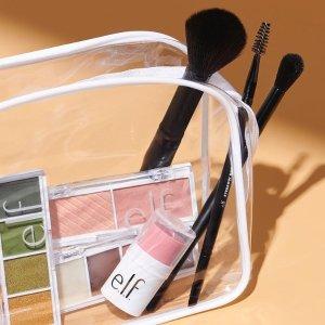 满享8折+送2件自选礼e.l.f. Cosmetics 精选美妆护肤热卖 收化妆刷套装、眼影套装