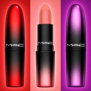 满$75送正装2件套(价值$52)+唇妆小样最后一天:M.A.C 魅可彩妆产品热卖 收渐变子弹头唇膏、超值套装