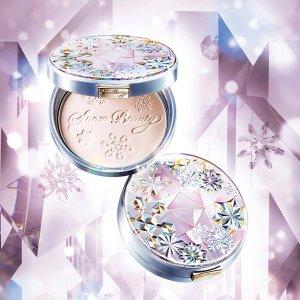 $71.16(原价$98.5)Shiseido 限定雪花晚安粉+替芯 24小时美颜无死角