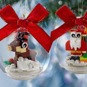 $7.99起新品上市:LEGO官网 2020年圣诞新品一箩筐
