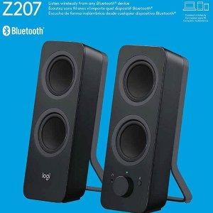 $39.99($59.99)Logitech 罗技 Z207 桌面音响 可连电脑 手机 还可插耳机