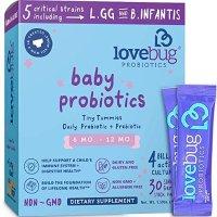 Lovebug Probiotics 婴幼儿益生菌30袋,适合6-12个月宝宝