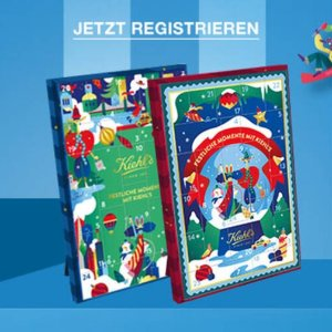 总价值184欧折扣升级:全场8折 年年疯抢的Kiehl's圣诞日历€60入手