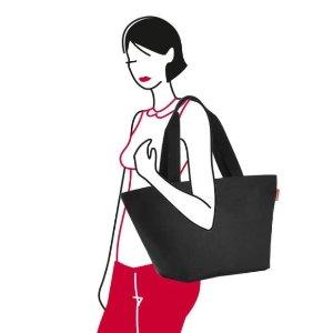 仅售€14.95 超市采购必备Reisenthel 纯色帆布袋 大容量 宽肩带不勒肉 纯色还可DIY