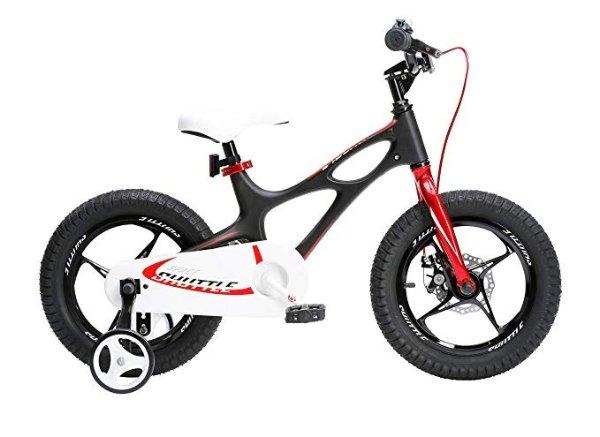 儿童自行车,带辅助轮, 14-16-18英寸轮