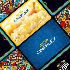 礼卡不过期,周二半价日也能用Cineplex 买$30礼品卡送送价值$30观影大礼包