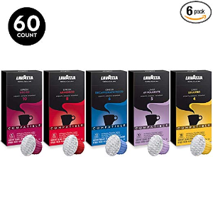 $14.99Lavazza Nespresso Compatible Capsules Variety Pack (Pack of 60)