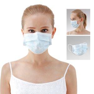 7.4折 仅€5.94,合€012/片史低价:全棉时代 一次性三层口罩50片 医用标准 防疫必备