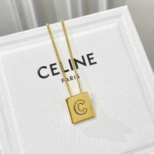 法式女孩最爱 €310收Lisa同款字母项链Celine 首饰专场 凯旋门系列现代感拉满 完全无法拒绝的宝藏