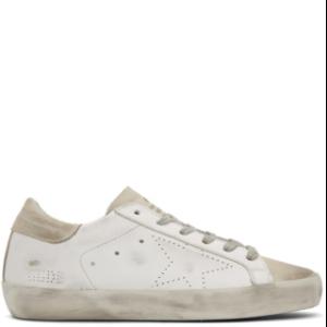 Golden Goose: White Superstar Sneakers | SSENSE
