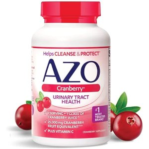 AZO第二件半价蔓越莓胶囊 100粒