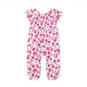 Burt's Bees Baby女婴有机棉连体衣