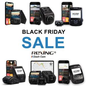 额外85折优惠Rexing 多款高清行车记录仪 黑五限时好价