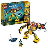 Lego Creator系列 3合1 水下机器人 31090