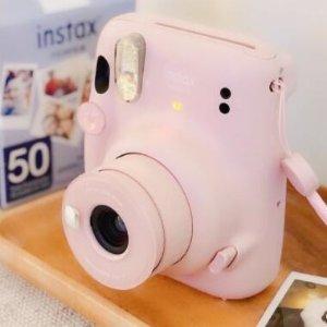 $79.99包邮(原价$89.99)Fujifilm Instax Mini 11 拍立得 满足少女心 奶油紫超可