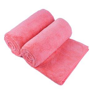 $14.67起毛绒大浴巾套装 两件装 多色可选