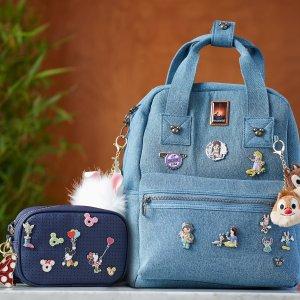 DisneyMickey Mouse Icon Flair Denim Backpack | shopDisney