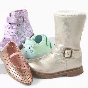 Buy 1 Get 1 FreeCarter's Kids Shoes Sale
