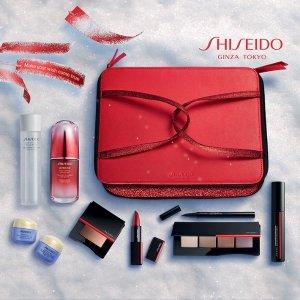 无门槛8折/送£69豪礼Shiseido官网精选产品大促!打折or赠礼!红腰子参加!