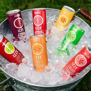 $9.42IZZE 4 Flavor Variety Pack Sparkling Juice, 8.4-Ounce Cans (Pack of 24)