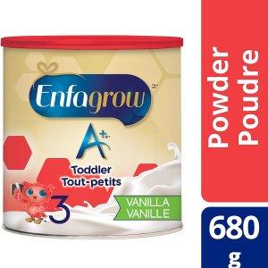 $17.55(原价$21.98)Enfagrow 美赞臣 A+ 3段幼儿配方奶粉680g  新包装品质不变
