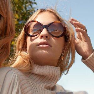 全场$139.59任选+免邮免关税最后一天:大牌墨镜特卖 Celine、Tom Ford等 看看哪一副你还没有