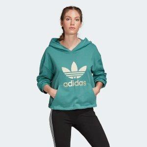 Adidas帽衫