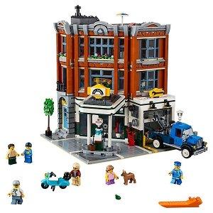 Lego2019年1月1日上市转角停车场 - 10264
