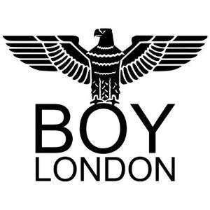 整单额外7折 折扣区参加独家:BOY London 全场潮服大促 斜挎包£28、logo上衣£21