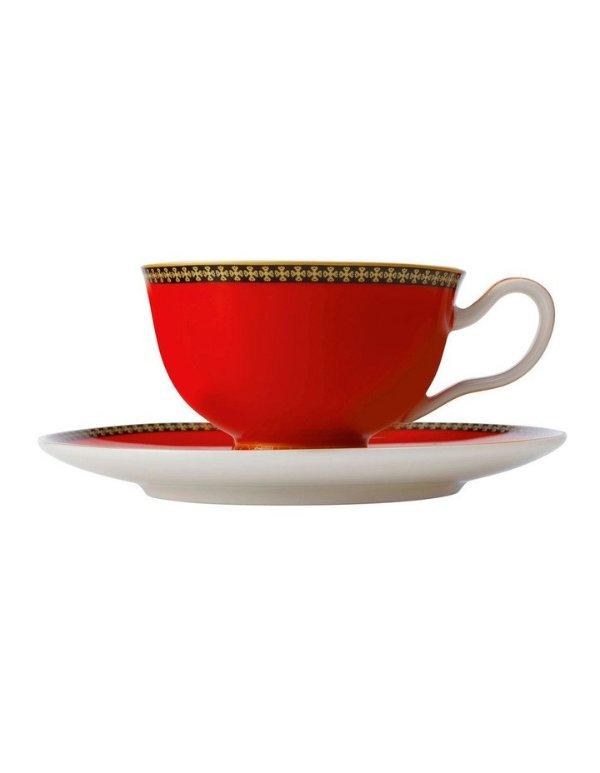 复古茶杯+托盘 200ml