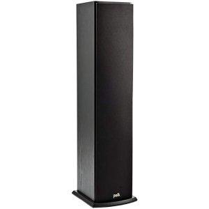 限时特惠 ¥514Polk Audio T50 落地式家庭影院音箱(单个,黑色)