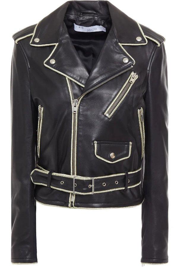 Allumy leather 机车夹克